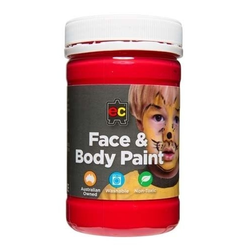 Face Paint Red 175mL