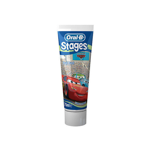 Oral B Toothpaste Fruit Burst Cars 75mL