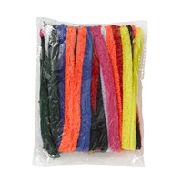 Jasart Pipe Cleaners Assorted 15cm Pack of 50