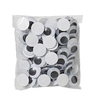 Jasart Joggle Eyes 20mm Pack of 100