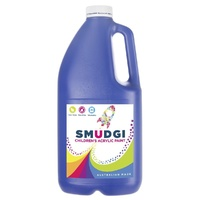 Smudgi Children's Acrylic Paint Blue 2L