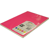 Rainbow Fluro Board A4 25 Sheets