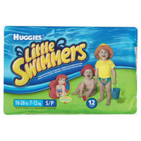 Huggies Little Swimmers Small (7-12KG) Carton 3 x 12's