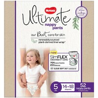 Huggies Ultimate Nappy Pants Size 5 Unisex 14-18kg 51'S