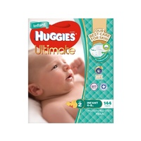 Huggies Infant Nappies Unisex 4-8kg 144's