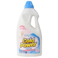 Cold Power Laundry Liquid for Front & Top Loader Sensitive  2L