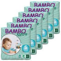 Bambo Nature Nappies Size 5 Junior 12 - 22 kg (6 x 27) 162's