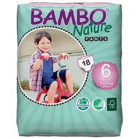 Bambo Nature Training Pants Size 6 18+KG 18's