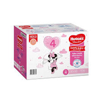 Huggies Ultra Dry Nappies Size 4 Toddler Girl 10-15kg 108's