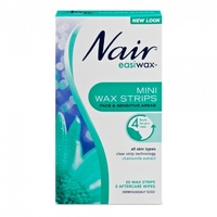 Nair Easiwax Mini Wax Strips Pack of 20