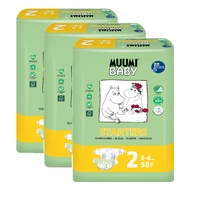 Muumi Nappies Mini 3 - 6KG Size 2 Carton 174's