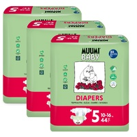 Muumi Nappies Size 5 Maxi Plus 10 - 16KG (3 x 44) 132's
