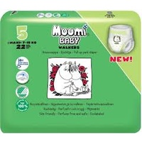 Muumi Nappy Pants Size 5 Maxi Plus 7 - 15KG 22's