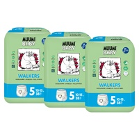 Muumi Nappy Pants Size 5 Maxi Plus 10-15kg Three Packs of 38 (114's)