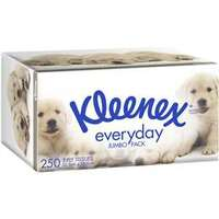 Kleenex Facial Tissues Jumbo Carton of 18 x 250's
