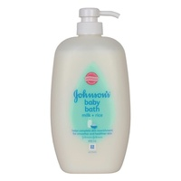 Johnson's Baby Bath Milk + Rice 800mL
