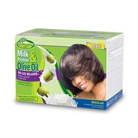 Sofn'Free GroHealthy Milk & Olive No-Lye Relaxer Kit Regular