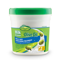 Sofn'Free GroHealthy Milk Protein & Olive Oil Really Deep Conditioner 454g (16oz)