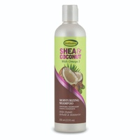 GroHealthy Shea & Coconut Moisturising Shampoo 355mL (12oz)