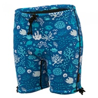 Conni Kids Containment Swim Short Size 10 - 12 Ocean Blue