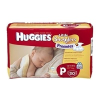 Huggies Preemies Up to 3KG 30's