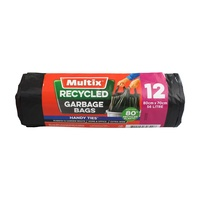 Multix Recycled Garbage Bags 56 Litre 12's