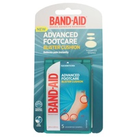 Band-Aid Blister Cushion Pack of 5 Assorted Shapes
