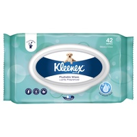 Kleenex Flushable Wipes Lightly Fragranced 42's
