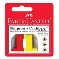 Sharpener Faber-Castell 2 Pack With Catch
