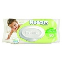 Huggies Wipes Scented Refill Cucumber & Aloe 80's