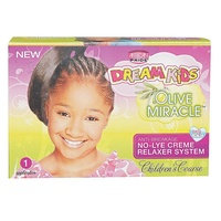 African Pride Dream Kids Olive Miracle No-Lye Creme Relaxer System Children's Coarse