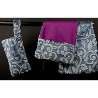 Burp Gear Burp Cloths Slate Vineyard