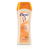 Clere Hand & Body Lotion Nourishing Cocoa Butter 400mL