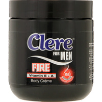 Clere For Men Body Creme Fire 450mL