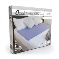 Conni X-wide Reusable Bed Pad with Tuck-ins Mauve