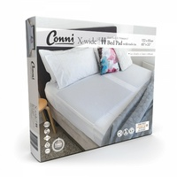 Conni X-wide Dual Reusable Bed Pad with Tuck-ins White