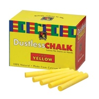 Chalk Dustless Yellow 100's