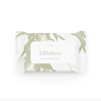 Luv Me Eco Bamboo Wipes 20's