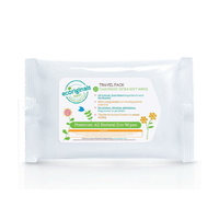 Ecoriginals Biodegradable Travel Wipes 10's