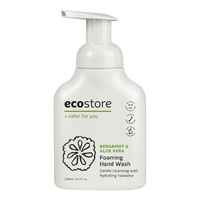 Ecostore Foaming Hand Wash Bergamot & Vanilla 250mL