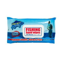 Wipeeze Fishing Hand Wipes Pack of 30