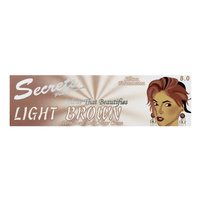 Secrets Hair Colour Light Brown 2x50ml