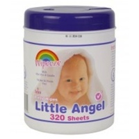 Little Angels Wipes Tub 320's