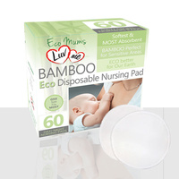 Luv Me Eco Bamboo Disposable Nursing Pad 60'S