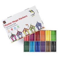 Master Mega Markers Box of 288