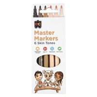 Master Skin Tone Markers Set of 6