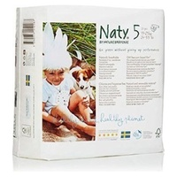 Naty by Nature Nappies 11 - 25KG Size 5 23's