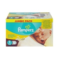 Pampers New Baby 2 - 5KG 72' s Size 1