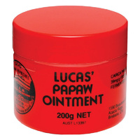 Lucas Papaw Ointment 200g
