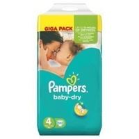 Pampers Baby Dry 9 - 14KG 120's Size 4